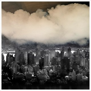 ANNA FAIRBANK <I>NY City 1 (Aerial Series)</i> [2013] digital pigment print on metallic pearl paper + dibond mount 56.5 x 56.5 cm [edition of 5]